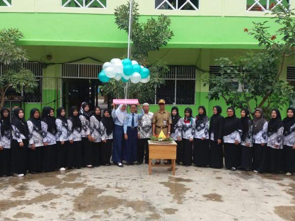 Peringatan Hari Guru Nasional ke-73 di SMP Negeri 1 Kandangan